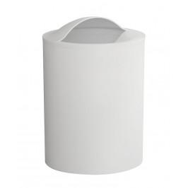 AQUALINE - EYE kôš na odpadky, 6l, ABS plast, biela 120902