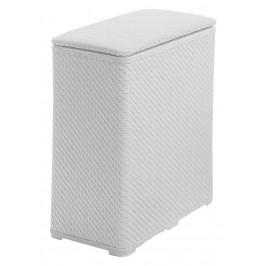 AQUALINE - AMBROGIO koš na prádlo 50x55x28 cm, bílá (203802)
