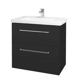 Dreja - Koupelnová skříň BIG INN SZZ2 80 - N03 Graphite / Úchytka T04 / N03 Graphite (200671E)