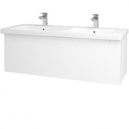 Dreja - Koupelnová skříň COLOR SZZ 125 - M01 Bílá mat / M01 Bílá mat (201852)