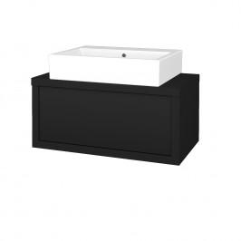 Dreja - Koupelnová skříň STORM SZZ 80 (umyvadlo Kube) - N08 Cosmo / N08 Cosmo (221119)