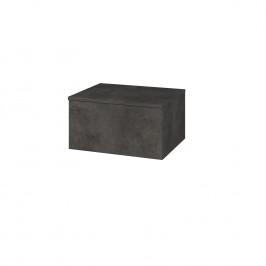 Dreja - Skříň nízká DOS SNZ1 60 - D16  Beton tmavý / Bez úchytky T31 / D16 Beton tmavý (280970D)