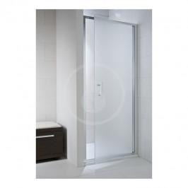 JIKA - Cubito Pure Sprchové dveře 900 L/P, sklo dekor arctic, stříbrná lesklá (H2542420026661)