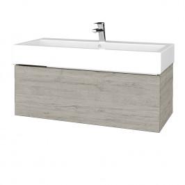 Dreja - Koupelnová skříň VARIANTE SZZ 100 - D05 Oregon / D05 Oregon (264796)