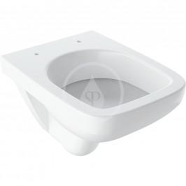 GEBERIT - Selnova Compact Závěsné WC, 480x360 mm, bílá (500.263.01.1)