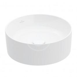 VILLEROY & BOCH - Collaro Umyvadlo na desku, průměr 400 mm, alpská bílá (4A184001)