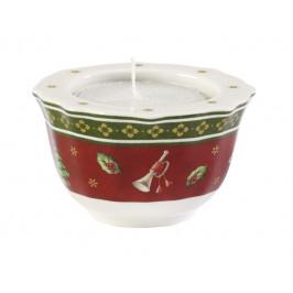 Villeroy & Boch Toy´s Delight svietnik na čajovú sviečku, červený