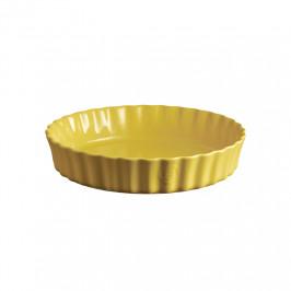 Emile Henry hlboká forma na koláče, Ø 28 cm, žltá Provence