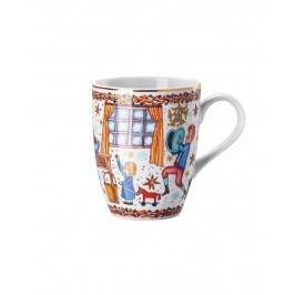 Rosenthal porcelánový vianočný hrnček, Vianočné pečenie, 0,3 l