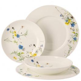 Darčeková sada porcelánu Rosenthal Brillance Fleurs des Alpes, taniere, 4ks