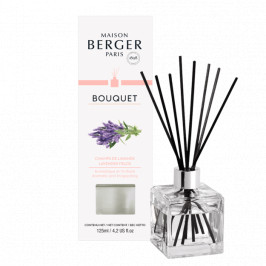 Maison Berger Paris aróma difuzér Cube, Levanduľové pole 125 ml