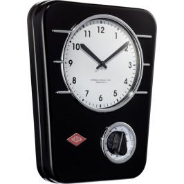 Wesco Kuchynské hodiny s minútkou, čierne 322401-62