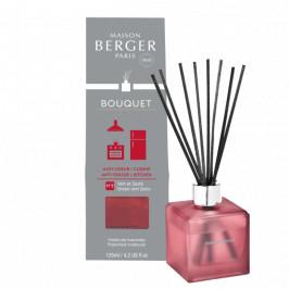 Maison Berger Paris aróma difuzér Cube, Proti zápachu v kuchyni - Citrusová vôňa, 125 ml