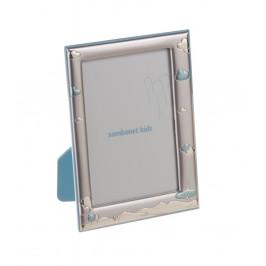 Sambonet foto rámček Blue Plane, na foto 9 x 13 cm