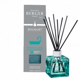 Maison Berger Paris aróma difuzér Cube, Proti zápachu v kúpeľni - vôňa Aquatic, 125 ml
