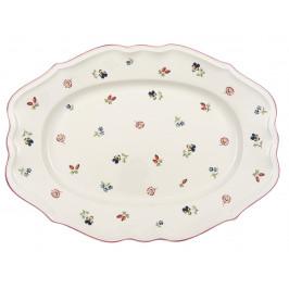 Villeroy & Boch Petite Fleur Oválny servírovací tanier, 44 cm