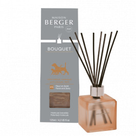 Maison Berger Paris aróma difuzér Cube, Proti zvieracemu zápachu - Kvetinovo-citrusová vôňa, 125 ml