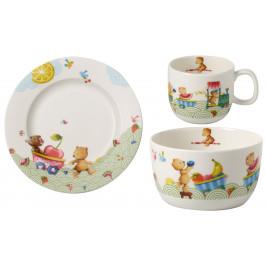 Villeroy & Boch Hungry as a Bear súprava detského porcelánu, 3 ks