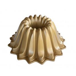 Nordic Ware Forma na bábovku Lotus, zlatá