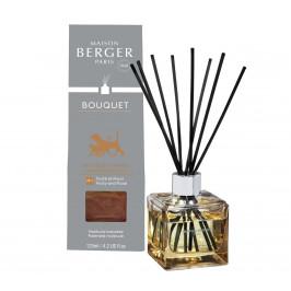 Maison Berger Paris aróma difuzér Cube, Proti zvieraciemu zápachu - Ovocno-kvetinová vôňa, 125 ml