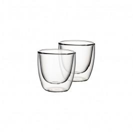 Villeroy & Boch Artesano Hot&Cold Beverages dvojstenný pohár na espresso 0,11 l, súprava 2 ks