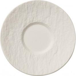 Villeroy & Boch Manufacture Rock Blanc espresso tanierik, Ø 12 cm