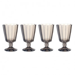 Villeroy & Boch Opéra Smoke súprava pohárov na vodu 0,36 l, 4 ks
