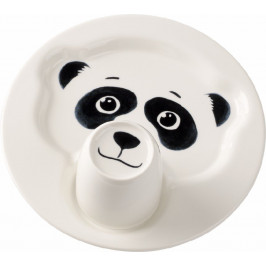 Villeroy & Boch Animal Friends tanier s hrnčekom, panda