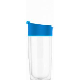 SIGG sklenený cestovný hrnček Nova Electric Blue, 0,37 l