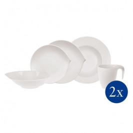 Villeroy & Boch Flow porcelánová Starter sada, 10 ks