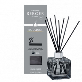 Maison Berger Paris aróma difuzér Cube, Proti tabakovému zápachu - Drevitá vôňa, 125 ml