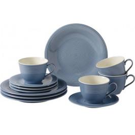 Villeroy & Boch Like Color Loop Horizon porcelánový kávový servis, 12 ks