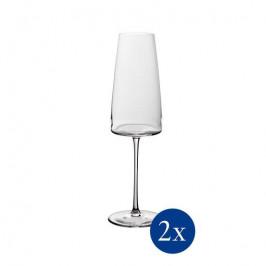 Villeroy & Boch MetroChic pohár na šampanské, 0,445 l, 2 ks