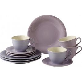 Villeroy & Boch Like Color Loop Blueblossom porcelánový kávový servis, 12 ks