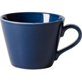 Villeroy & Boch Like Organic Dark Blue šálka na kávu, 0,27 l