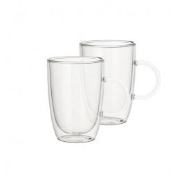 Villeroy & Boch Artesano Hot&Cold Beverages univerzálny sklenený hrnček 0,39 l, súprava 2 ks