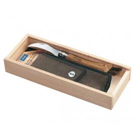 Hubársky nôž Opinel VR N°08, darčekové balenie s puzdrom