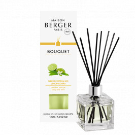 Maison Berger Paris aróma difuzér Cube, Citrónový kvet 125 ml