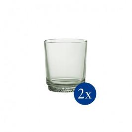 Villeroy & Boch it's my match poháre na vodu, 0,38 l, svetlozelené, 2 ks