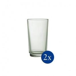 Villeroy & Boch it's my match poháre na longdrink, 0,41 l, svetlozelené, 2 ks