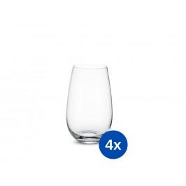 Villeroy & Boch Entree pohár na vodu, 0,62 l, 4 ks