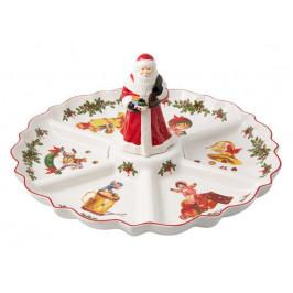 Villeroy & Boch Toy's Fantasy 2020 vianočný delený tanier, 38 cm