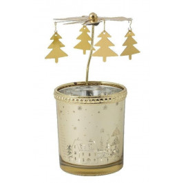 Villeroy & Boch Winter Collage Accessoires vianočný svietnik - veterník, 13 cm
