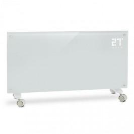 Klarstein Bornholm, konvektor, 2 stupne ohrevu, 1000/2000 W, LED displej, časovač, 40 m², podstavec, biely