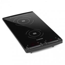 Klarstein VariCook Slim indukčná varná doska, 2 varné platne, 2900W, 60-240 °C, čierna farba