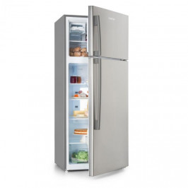 Klarstein Jumbo Cool, kombinovaná chladnička s mrazničkou, 510 l, 7 úrovní chladenia, strieborná