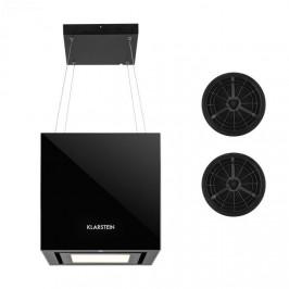 Klarstein Kronleuchter, digestor, sada na recirkulačnú prevádzku, 2 filtre s aktívnym uhlím, čierny