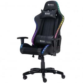 Herná stolička Sandberg Commander RGB čierna (640-94...