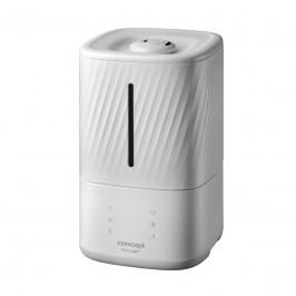 Zvlhčovač vzduchu Concept ZV2010 biely... Ultrazvuková technologie s emisí chladné i teplé páry, pro místnost o velikosti až 56 m2, tichý provoz a bar