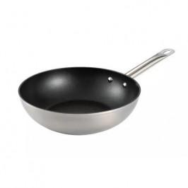 Panvica WOK Tescoma Grandchef 28 cm (606863.00... Masivní pánev wok, dostatečně prostorná, vynikající pro přípravu většího množství pokrmů.